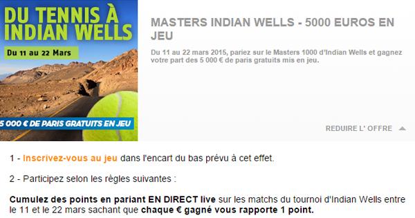 PMU lance un challenge tennis