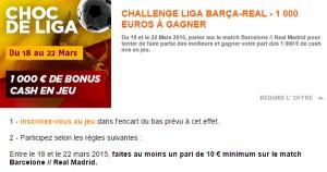 Challenge PMU sur la Liga