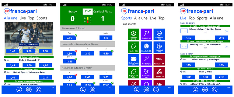 France Pari sur Windows Phone