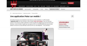 Application mobile Winamax
