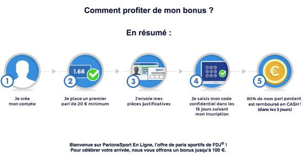 Bonus Parions Sportif Parions Sport