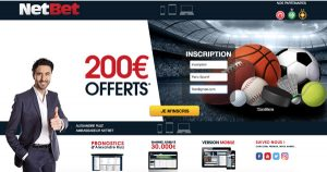 Ouvrir compte NetBet ordi
